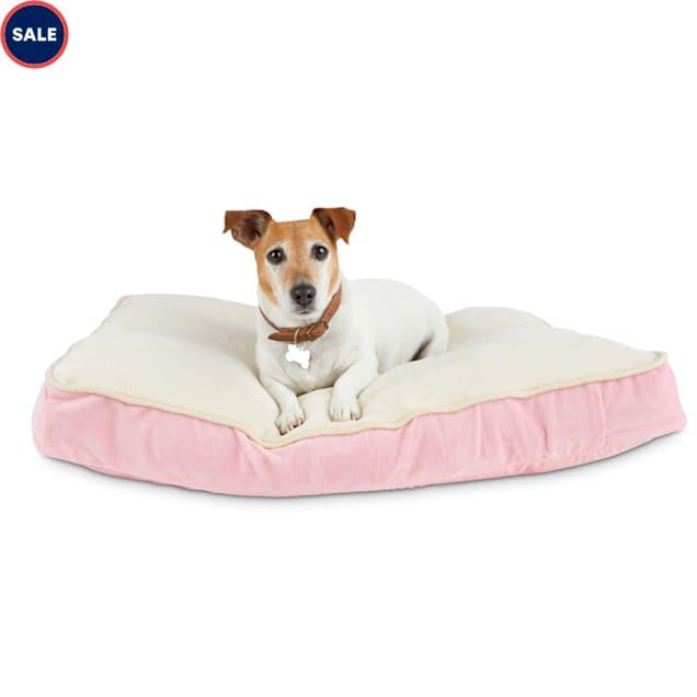 "Animaze Pink Lounger Dog Bed, 32"" L X 24"" W X 3.5"" H - Carousel image #1"