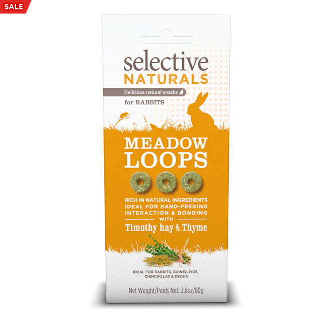 Supreme Science Selective Naturals Meadow Loops for Rabbit, 2.8 oz. - Carousel image #1