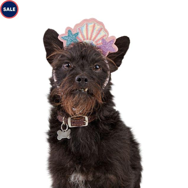 Bond & Co. Bombshell Mermaid Dog Headband, Small/Medium - Carousel image #1