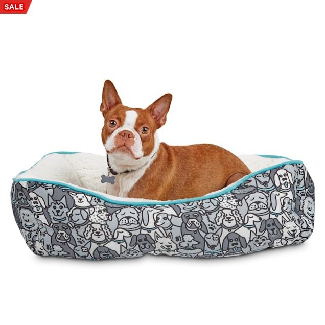 """BOBS from Skechers Woof Party Dog Bed, 24"""" L X 18"""" W - Carousel image #1"""