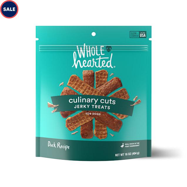 WholeHearted Culinary Cuts Duck Recipe Jerky Dog Treats, 16 oz. - Carousel image #1