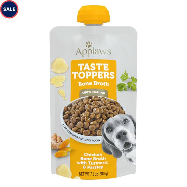 Applaws Taste Toppers Chicken Bone Broth Wet Dog Food, 7.1 oz. - Carousel image #1