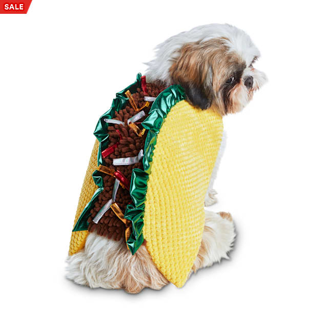 Bootique Tasty Taco Pet Costume, X-Large - Carousel image #1