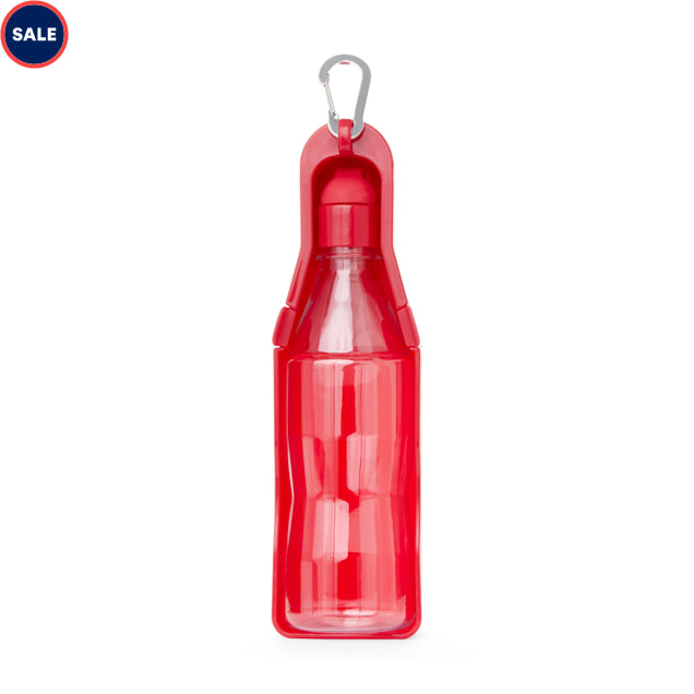 EveryYay Wet Your Whistle Red Plastic Water Dispenser for Dogs - Carousel image #1