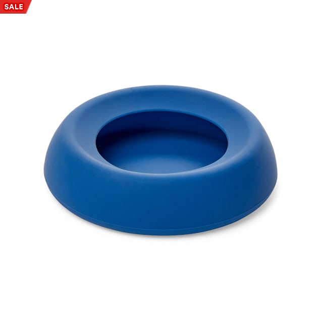 EveryYay Wet Your Whistle Blue No-Spill Pet Bowl - Carousel image #1
