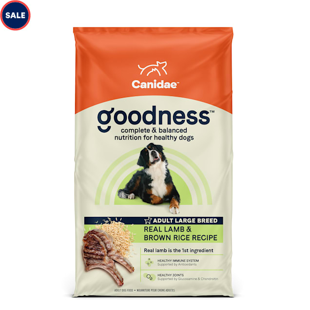 CANIDAE Adult Lamb & Brown Rice Large Breed Dry Dog Food, 25 lbs. - Carousel image #1