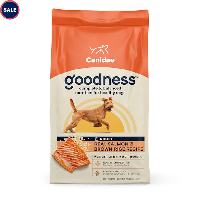 CANIDAE Adult Salmon & Brown Rice Dry Dog Food, 25 lbs. - Carousel image #1