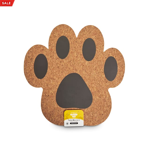 EveryYay Table Manners Cork Placemat for Pets - Carousel image #1
