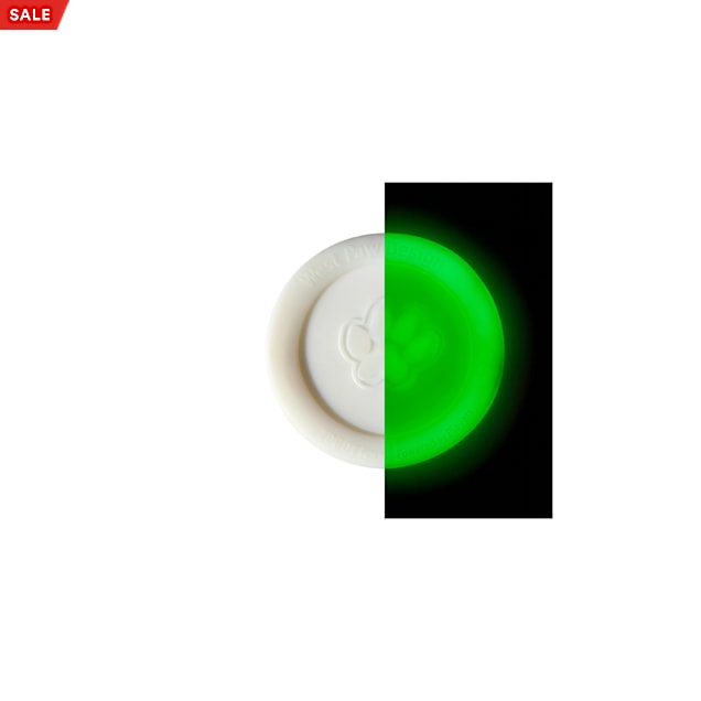 West Paw Zisc Glow in the Dark Frisbee Assorted Dog Chew Toy, Small - Carousel image #1