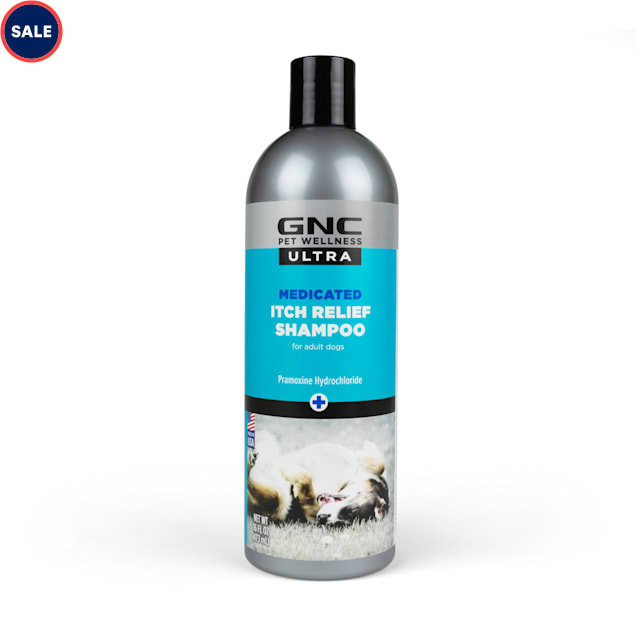 GNC Ultra for Pets Medicated Itch Relief Dog Shampoo, 16 fl. oz. - Carousel image #1