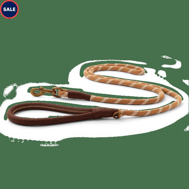 Reddy Tan Rope Dog Leash, 6 ft. - Carousel image #1