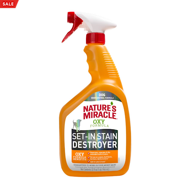 Nature's Miracle Set-In Stain Destroyer for Dogs, 32 fl. oz. - Carousel image #1