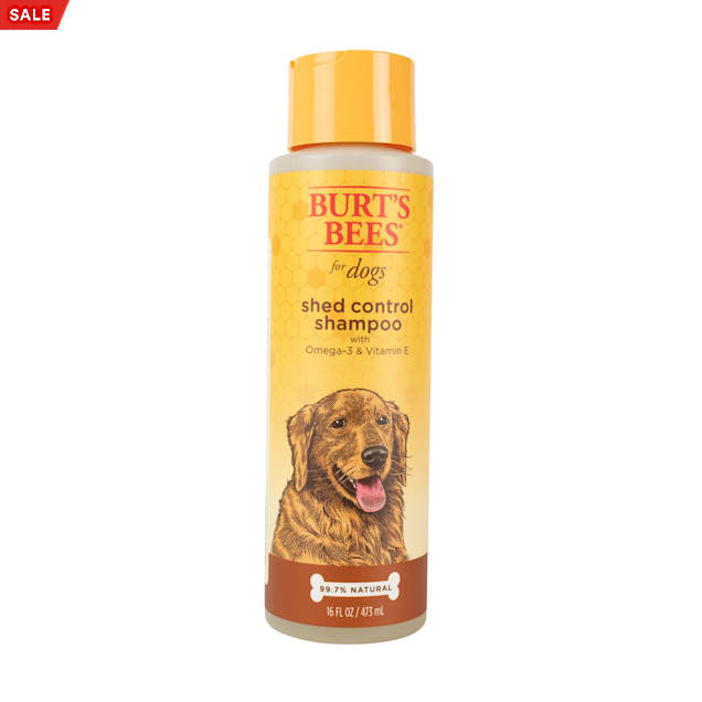 Burt's Bees Shed Control Shampoo for Dogs, 16 fl. oz. - Carousel image #1