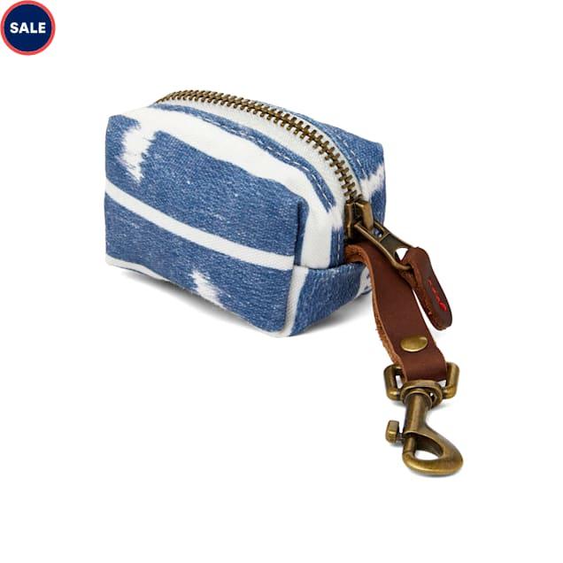 YOULY The Dreamer Blue Ikat Dog Waste Bag Dispenser - Carousel image #1