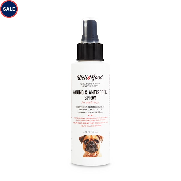 Well & Good Wound Spray for Dogs, 4 fl. oz. - Carousel image #1