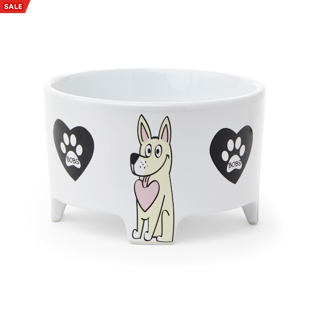 BOBS from Skechers Doggy Feet Dog Bowl, 3 Cups - Carousel image #1