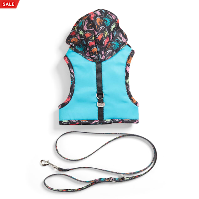 BOBS from Skechers Neon Cattitude Hooded Cat Harness - Carousel image #1
