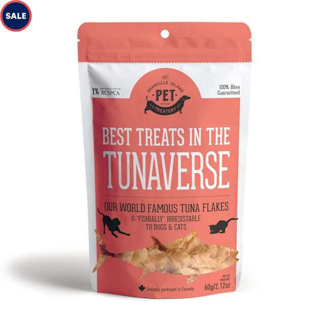 The Granville Island Pet Treatery Pure Proteins Tunaverseare Dog Treats, 60 Gram - Carousel image #1