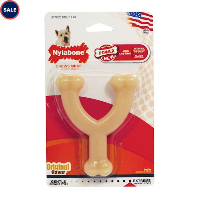 Nylabone Wishbone Power DuraChew Dog Toy, Small - Carousel image #1