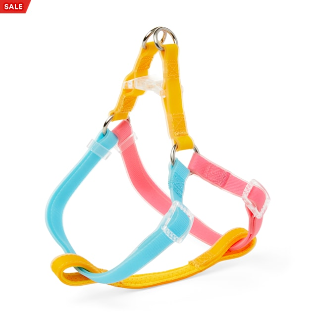 YOULY The Extrovert Water-Resistant Colorblocked Dog Harness, Small - Carousel image #1