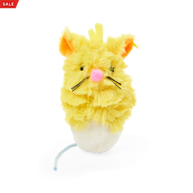 Bond & Co. Easter Fun Plush Mouse Cat Toy in Various Styles - Carousel image #1