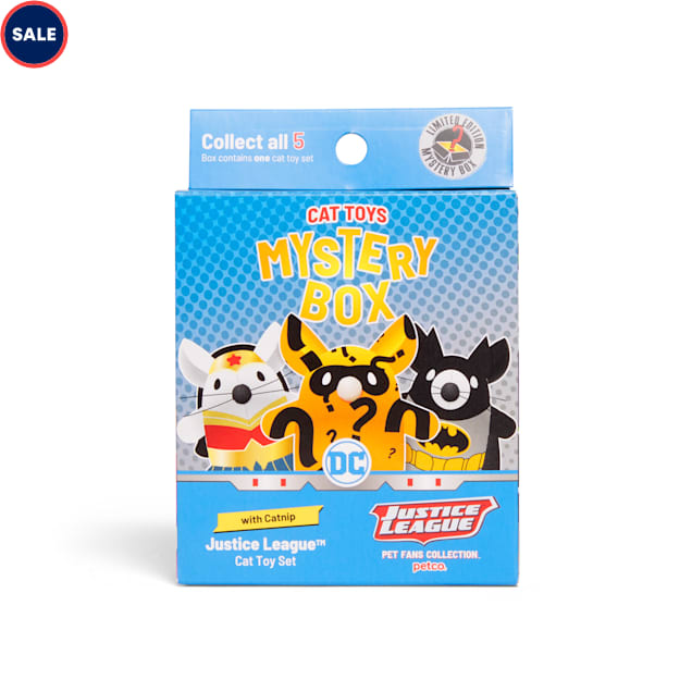 DC Comics Justice League Cat Toy Mystery Box - Carousel image #1