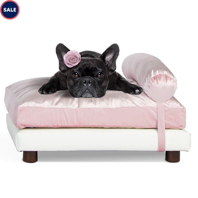 "Club Nine Pets Pink Milo Orthopedic Dog Bed, 24"" L X 34"" W - Carousel image #1"