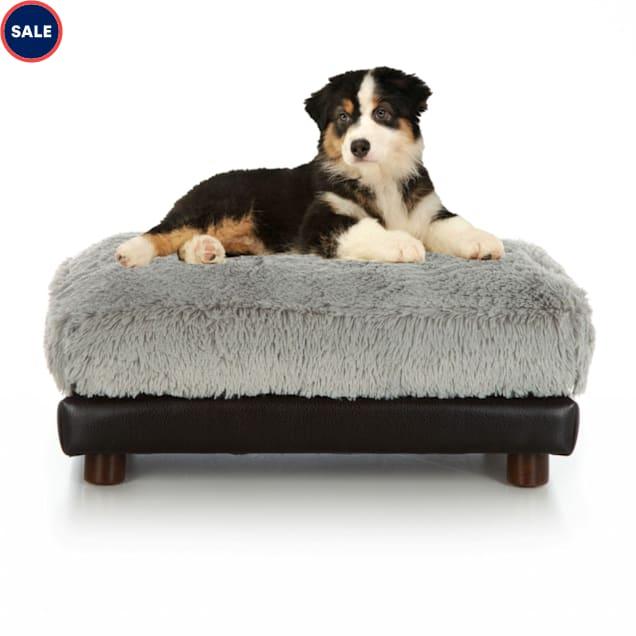 "Club Nine Pets Grey Milo Orthopedic Dog Bed, 24"" L X 34"" W - Carousel image #1"