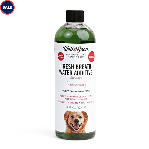Well & Good Dog Fresh Breath Water Additive, 16 fl. oz. - Carousel image #1