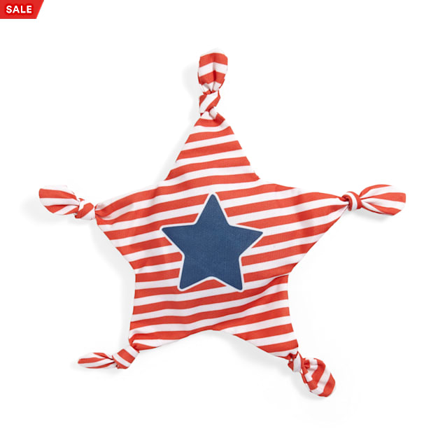 YOULY The Citizen Americana Collection USA Star Dog Toy, Medium - Carousel image #1