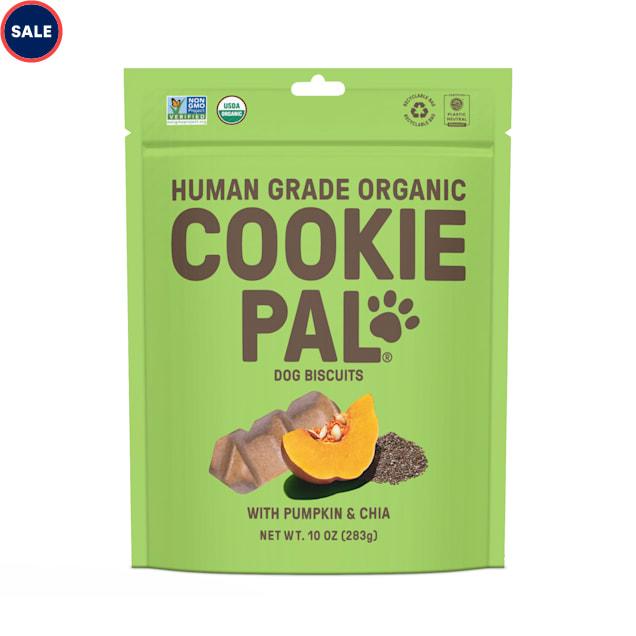 CookiePal Organic Pumpkin and Chia Recipe Dog Biscuits, 10 oz. - Carousel image #1