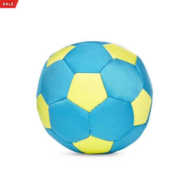 Leaps & Bounds Splash & Dash Soccer Ball Dog Toy, Medium - Carousel image #1