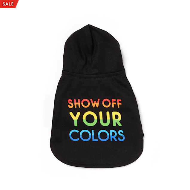 YOULY The Proudest Rainbow Show Off Your Colors T-Shirt for Small Animals - Carousel image #1
