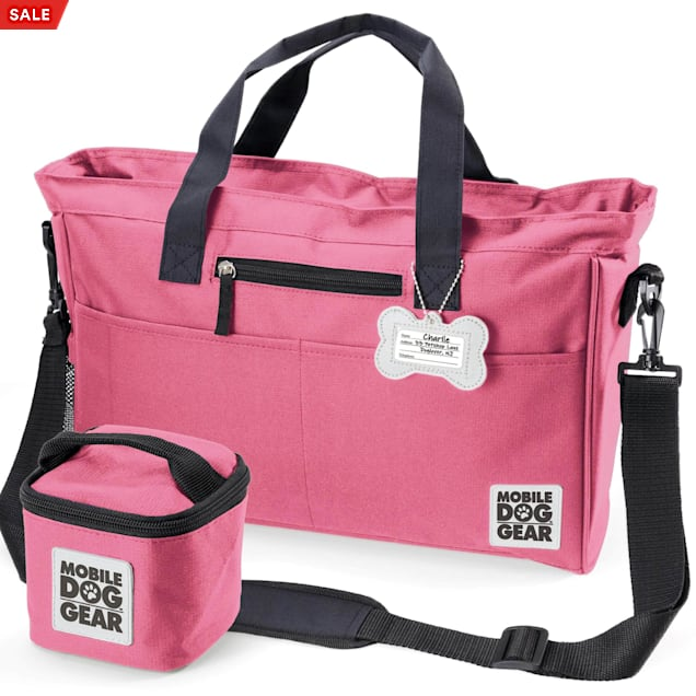 Mobile Dog Gear Pink Day Away Tote Bag - Carousel image #1