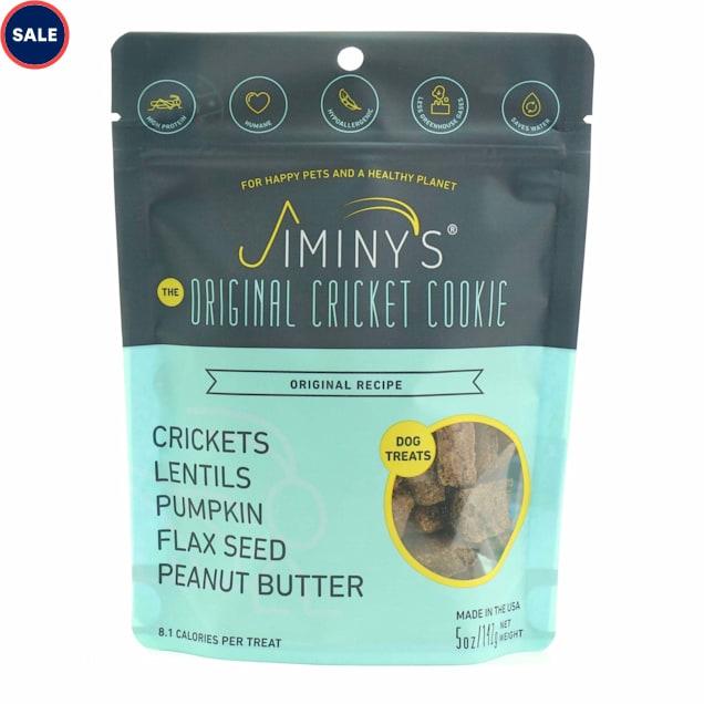 Jiminy's Original Cricket Cookie Dog Treats, 5 oz. - Carousel image #1