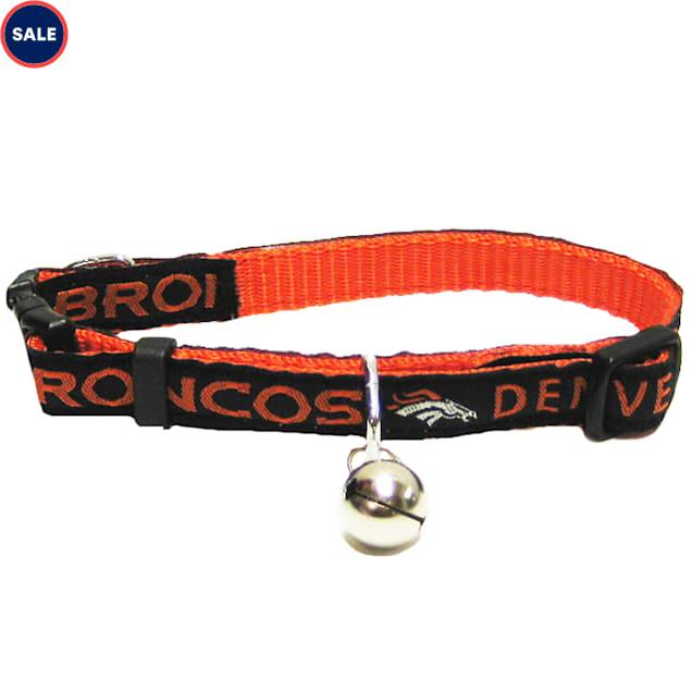 Pets First Denver Broncos Cat Collar - Carousel image #1