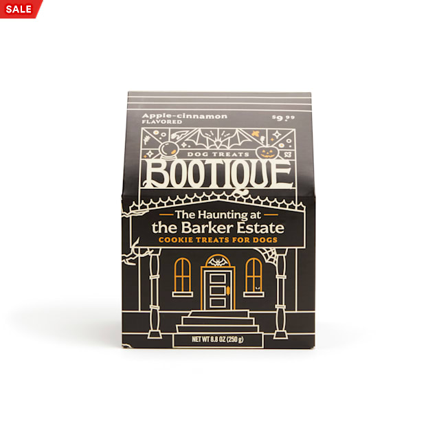 Bootique The Haunting at the Barker Estate Cookies Treats for Dogs, 8.8 oz. - Carousel image #1
