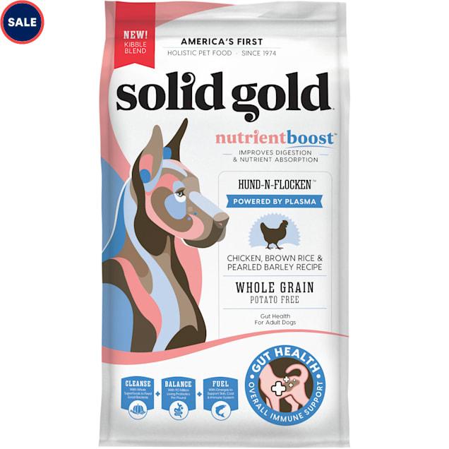 Solid Gold Plasma NutrientBoost Hund-N-Flocken Chicken Recipe Dry Dog Food, 24 lbs. - Carousel image #1