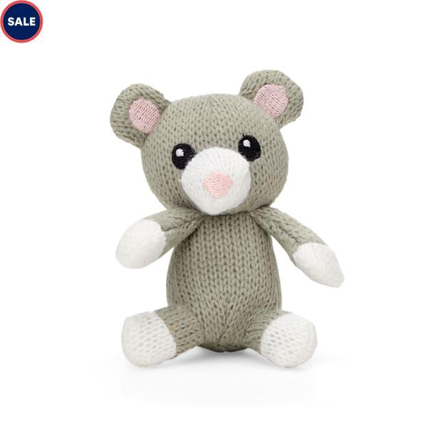 Leaps & Bounds Crochet Teddy Bear Kitten Toy - Carousel image #1