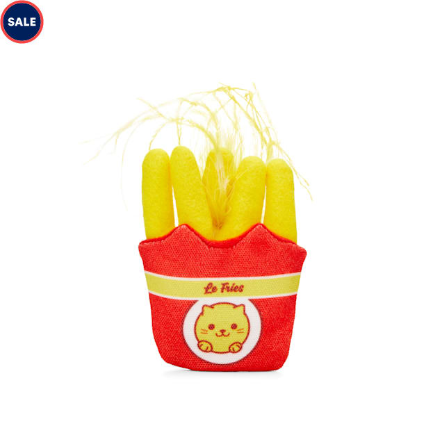Leaps & Bounds Plush French Fries Cat Toy - Carousel image #1