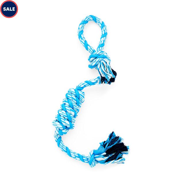 Leaps & Bounds Blue Twisted Rope Dog Toy, XX-Large - Carousel image #1