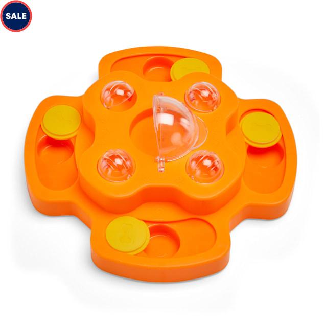 Leaps & Bounds Ponder & Puzzle Level 1 Dog Puzzle Toy, Medium - Carousel image #1