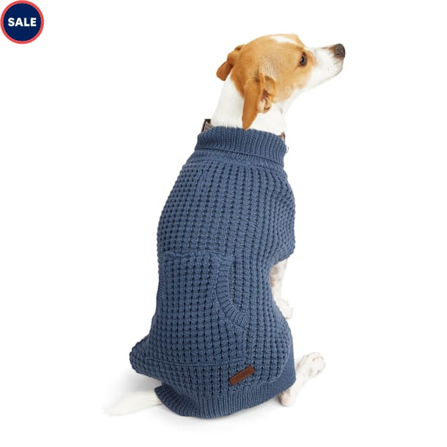 Reddy Navy Dog Sweater, X-Small - Carousel image #1