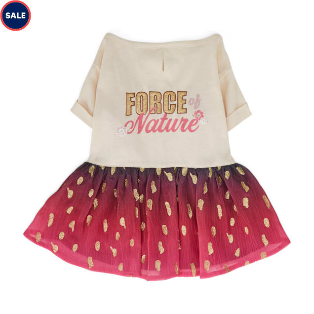 YOULY The Diva Force of Nature Dog Dress, XX-Small - Carousel image #1