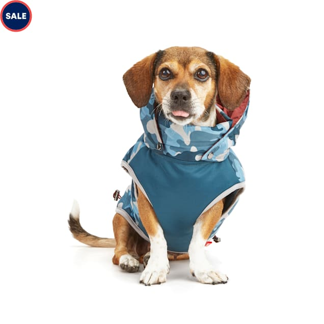 Reddy PrimaLoft Insulated Navy Camo Dog Puffer Vest, X-Small - Carousel image #1