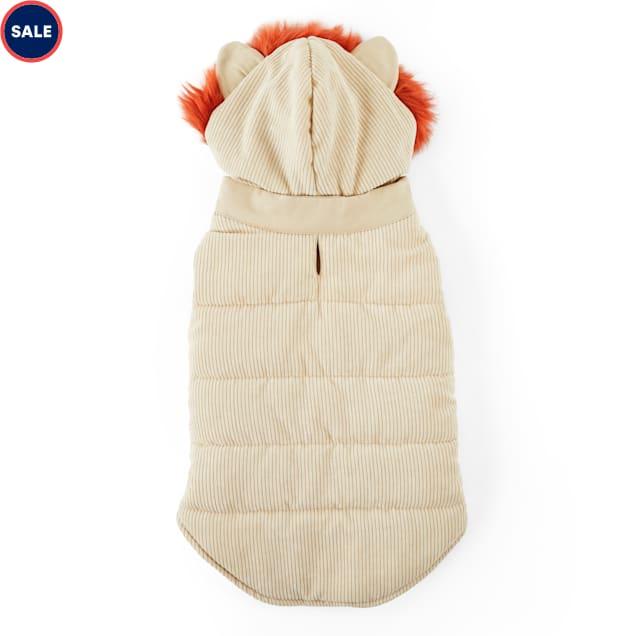 YOULY The Trailblazer Ivory Lion Dog Vest, XX-Small - Carousel image #1