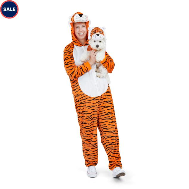 Bootique Fierce Feline Pet Parent Pajamas, Small/Medium - Carousel image #1