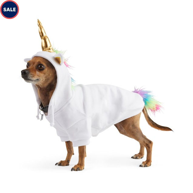 Bootique Born to Unicorn Pet Hoodie, X-Small - Carousel image #1