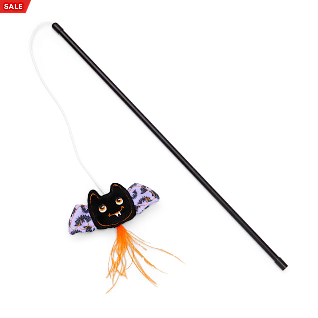 Bootique Bratty Batty Cat Teaser Toy - Carousel image #1