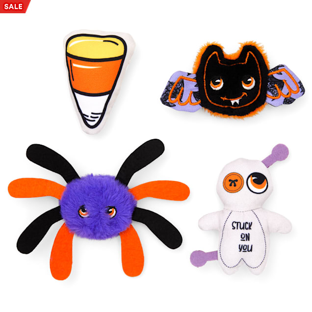 Bootique Spooky & Kooky Halloween Character Plush Dog Toy in Various Styles, X-Small - Carousel image #1